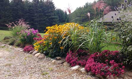 Botanical Gardens at Plant Paradise Country Gardens in Caledon