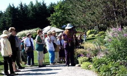 Group Tours of the Botanical Gardens at Gardenfest